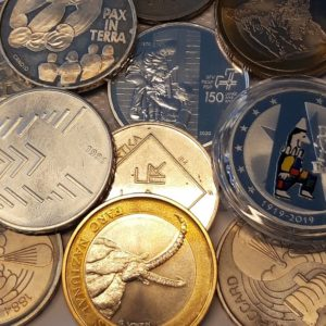 Monnaies commémoratives