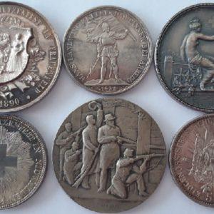 Ecus et médailles de tir
